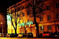 Front hotelu Iskra w Rzeszowie