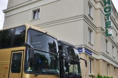 Hotel Iskra przy ulicy Dąbrowskiego w Rzeszowie
