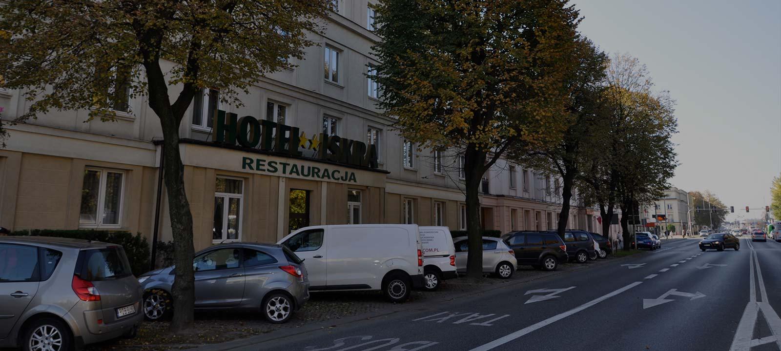 Hotel Iskra - Tanie noclegi w Rzeszowie, bardzo dobra lokalizacja